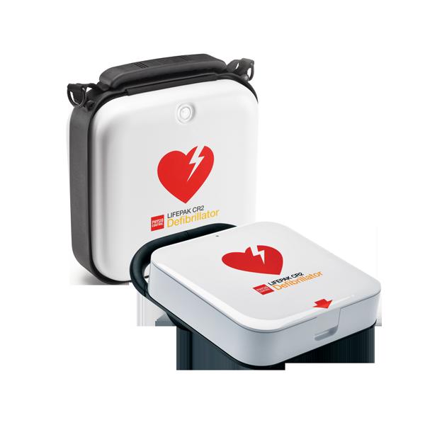 Lifepak CR 2 defibrilator, hjärtstartare med väska