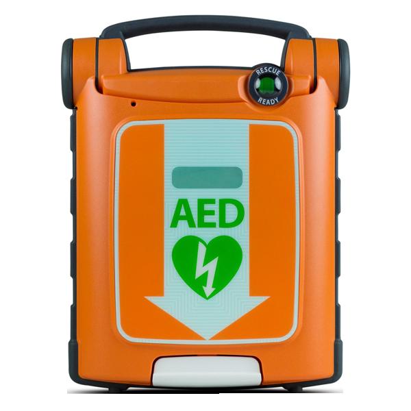 Powerheart AED G5. Hjärtstartaren levereras med, intellisense-batteri, defibrilleringselektroder, AED Manager, bruksanvisning och 8 års garanti