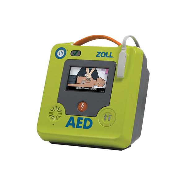 Zoll AED 3 är enkel att använda, enkel att sköta och enkel att äga. Det inbyggda HLR-stödet ger livräddaren assistans att utföra HLR. Denna produkt kan inte beställas online, endast mot offert.